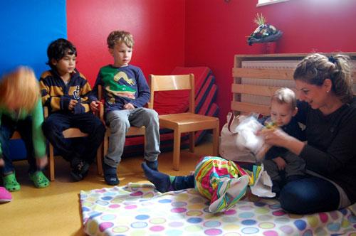 Geburtstag und Abschied von Baby Philip